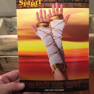 Spirit Grecian arm cuffs costume accessory